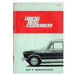 FIAT 125 SPECIAL Uso e manutenzione
