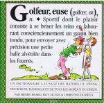 Golfeur: Un dictionnaire à l'usage des maîtres du swing...