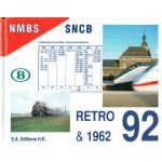 SNCB - NMBS : Retro 92 & 1962