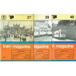 Tram magazine, numéros 37, 39 & 40, 10e année, 1985