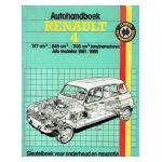 Autohandboek Renault 4 : 747 cm³ - 845 cm³ - 1108 cm³ benzinemotoren. Alle modellen 1961-1985