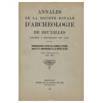 Annales de la Société d'Archéologie de Bruxelles - Tome Cinquante-Un - Années 1962-1966