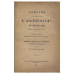 Annales de la Société d'Archéologie de Bruxelles - Tome Trente-Cinquième - Année 1930