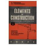 Eléments de construction à l'usage de l'ingénieur. Tome 8: appareils de levage et de manutention mécanique